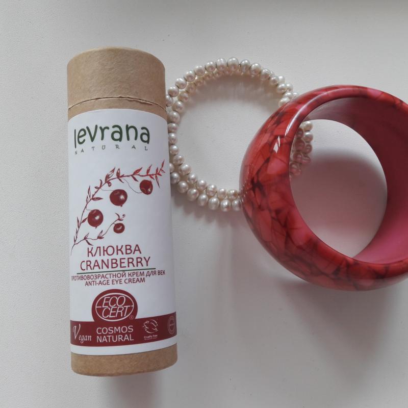 Крем для век Levrana Клюква противовозрастной Cranberry Anti-Age Eye Cream - фото