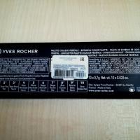 Тени для век Yves Rocher палитра Палитра теней для век Yves Rocher 10 цветов 01 Nude  - состав, инструкция