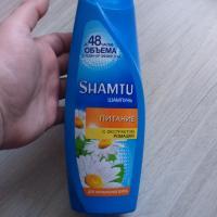 Шампунь Shamtu Питание с экстрактом ромашки для нормальных волос - фото