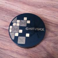 Компактная пудра Art-Visage Perfect Skin для жирной и комбинированной кожи тон 03 Светлый бежевый - фото, как выглядит