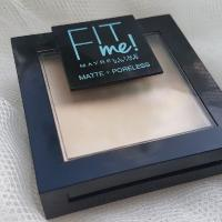 Пудра для лица Maybelline Fit Me Matte + Poreless Тон 105 Natural ivory - фото