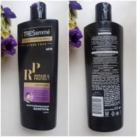 TRESemme Repair & Protect Восстанавливающий шампунь - флакон спереди и сзади