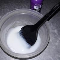Филлер для волос Белита Витекс Plex therapy - консистенция после разведения водой