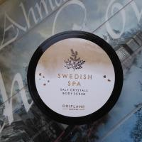 Солевой скраб для тела Oriflame Swedish Spa Шведский SPA-салон Salt Crystals Body Scrub - фото