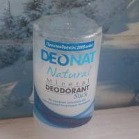 Минеральный дезодорант-кристалл DeoNat - реальное фото
