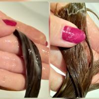 Бальзам Natura Siberica Oblepikha облепиховый Максимальный объем для всех типов волос  - фото на волосах
