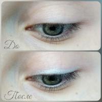 Карандаш для глаз Essence Long Lasting Eye Pencil 05 C'est la vie! - свотч на глазах