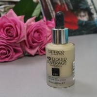 Тональная основа Catrice HD Liquid Coverage Foundation 010 Light Beige - фото
