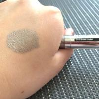 Жидкие тени для век Catrice Liquid Metal Longlasting Cream Eyeshadow 040 Brown Under - свотч