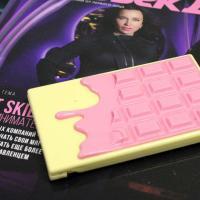 Палетка хайлайтера и румян Makeup Revolution I Heart Makeup Light and Glow - фото, упаковка