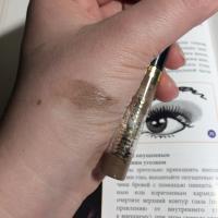 Art-Visage Fix & Care оттеночный гель для бровей и ресниц, тон Светло-коричневый - свотч
