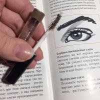 Art-Visage Fix & Care оттеночный гель для бровей и ресниц, тон Светло-коричневый - щеточка