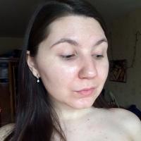 Тональный L'Oreal Infaillible 24Ч Матовое покрытие, тон 10 Фарфор - тест на лице, фото ДО
