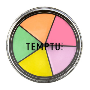 палитра консилеров Temptu SB Neutralizer Wheel