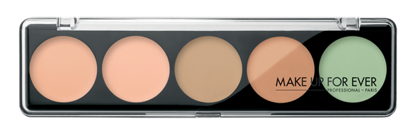 Палитра консилеров Make Up Forever 5 Camouflage Cream Palette