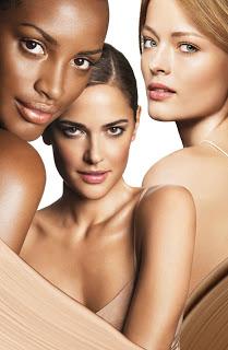 Основа под макияж - модели с разным цветом кожи